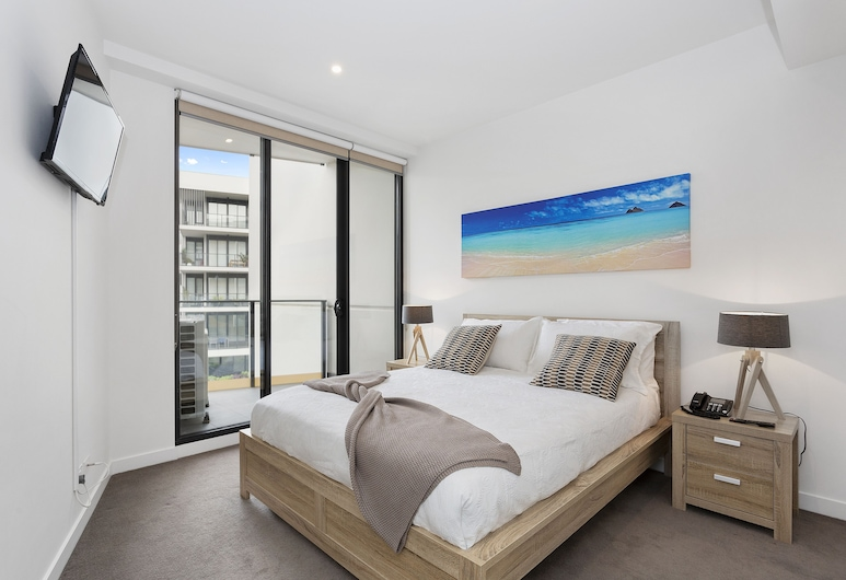 Sandy Hill Apartments by Ready Set Host, Sendringema, Dzīvokļnumurs, 1 divguļamā karalienes gulta un dīvāngulta, Numurs