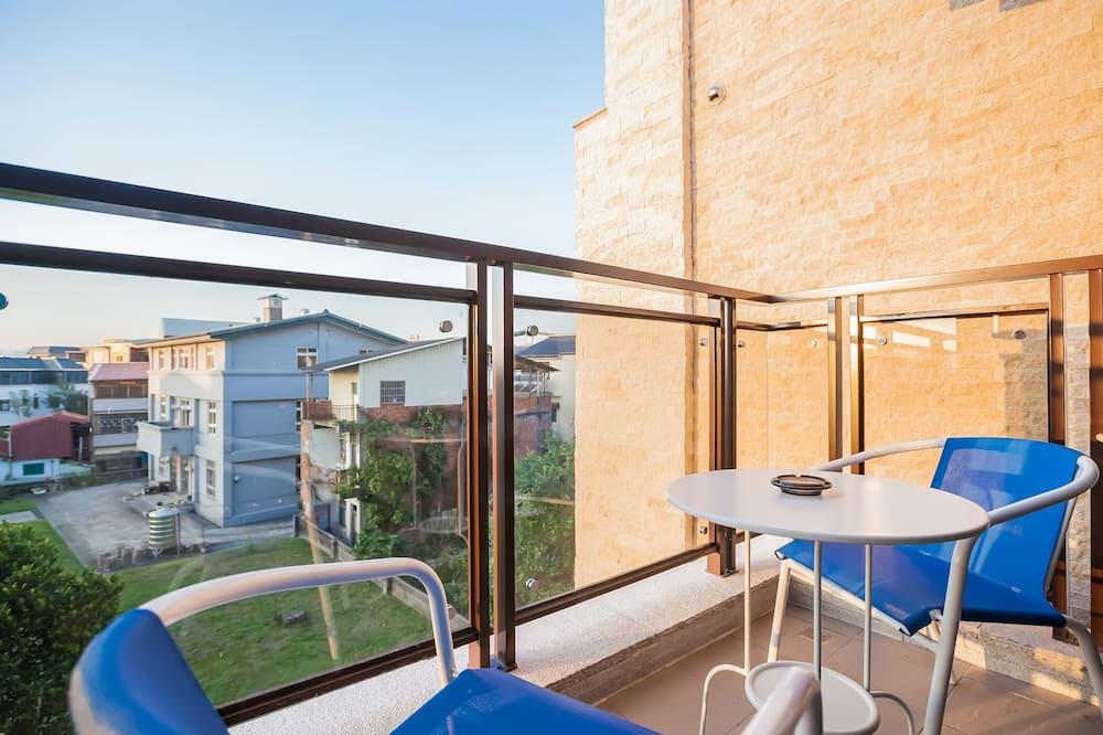 Komforta divvietīgs numurs, 1 divguļamā gulta, nesmēķētājiem - Balkons