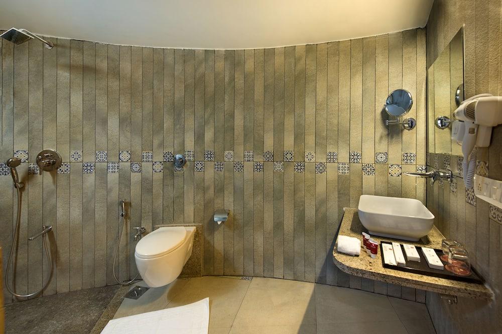 Perushuvila, 1 parisänky - Kylpyhuone