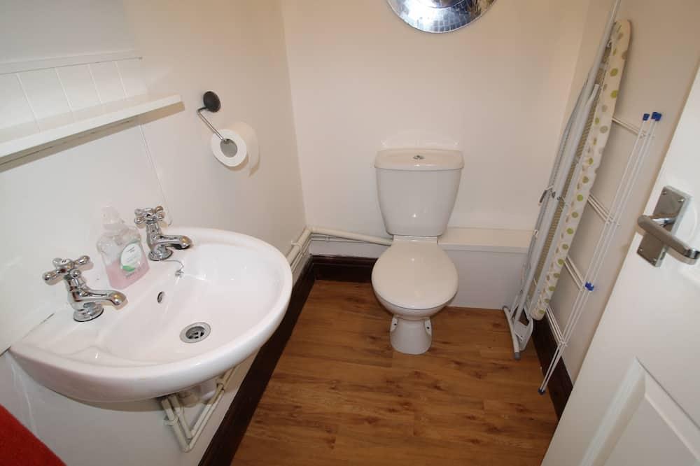 Executive-Apartment, eigenes Bad, Stadtblick - Badezimmer