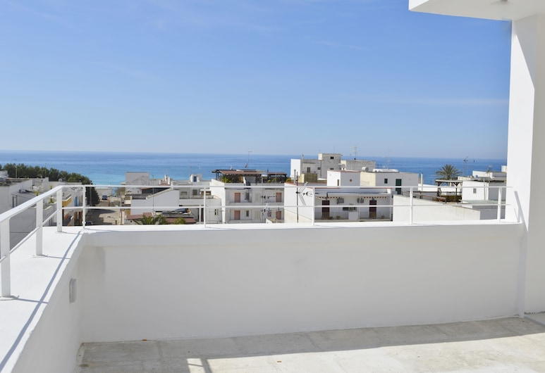 Appartamenti Oltremare, Gallipoli, Panorāmas dzīvokļnumurs, trīs guļamistabas, balkons, skats uz jūru, Numurs