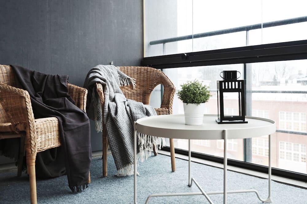 Superior Apartment, 1 Bedroom, Sauna, Lake View - Balcony
