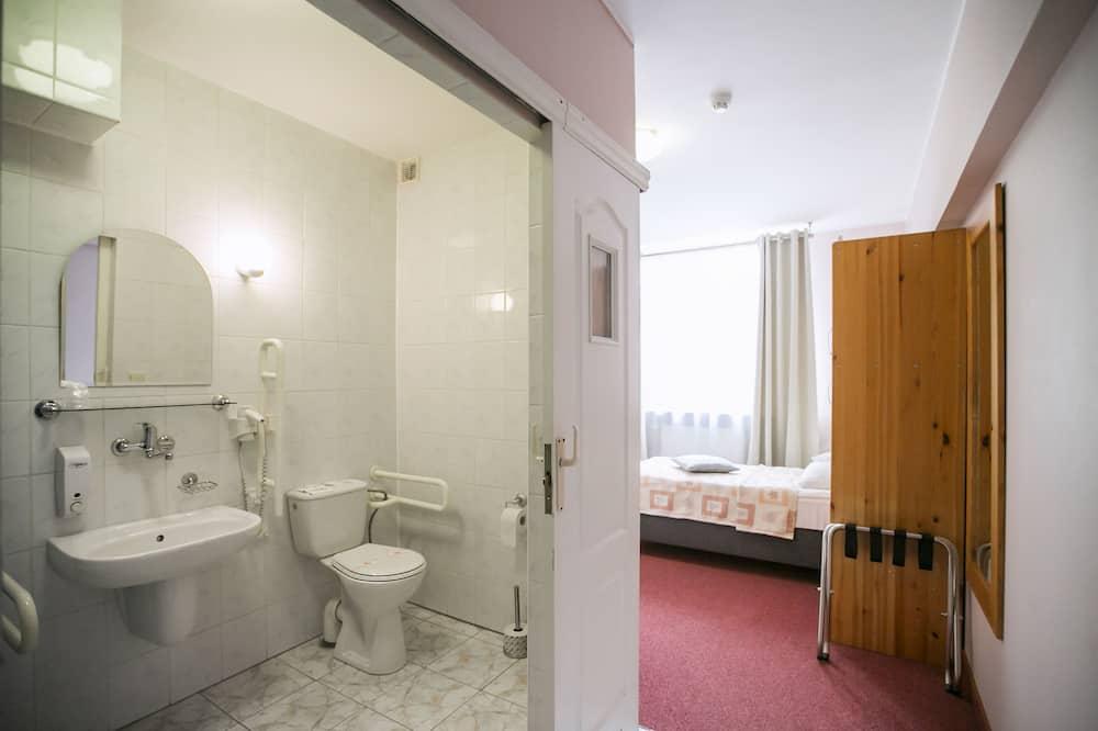 Одномісний номер, 1 односпальне ліжко, для некурців - Ванна кімната
