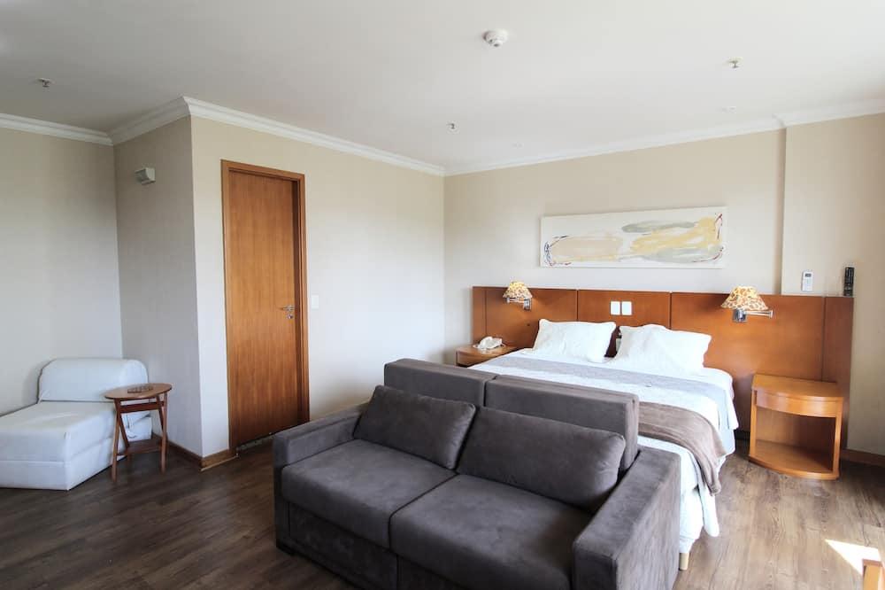 Comfort-Zweibettzimmer, 2Einzelbetten, Nichtraucher, Poolblick - Zimmer