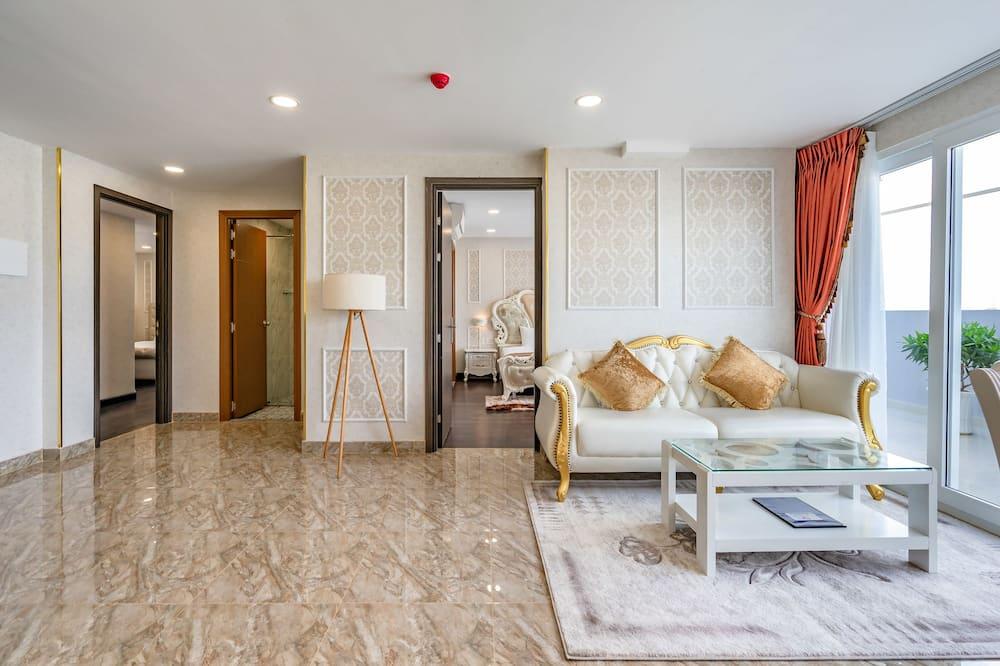 Royal Penthouse - Living Room
