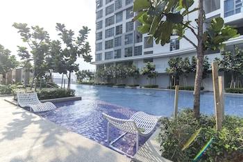 Foto OYO 470 Home 1BR Robertson Bukit Bintang Pool with KL Tower View di Kuala Lumpur