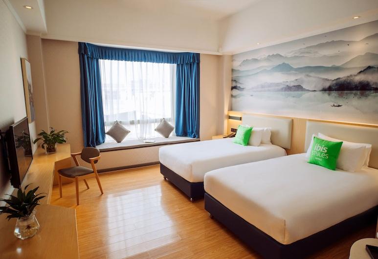 宜必思尚品廣州番禺市橋酒店, 廣州市, 高級雙床房, 客房