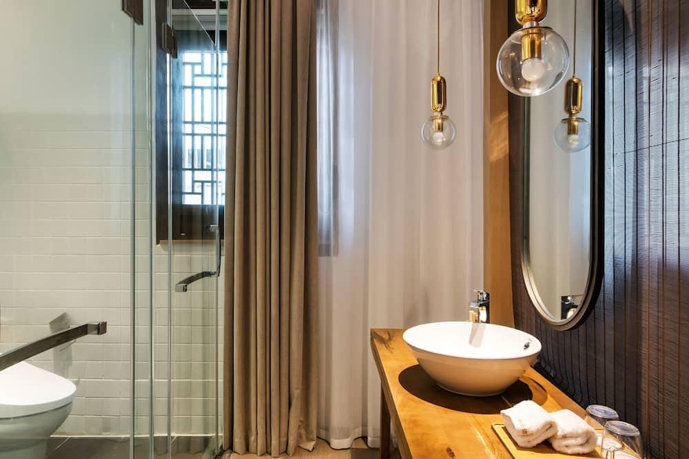 Design-dobbeltværelse - Badeværelse