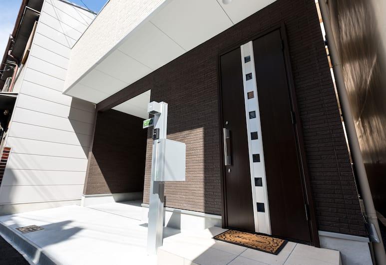 라인 하우스, 오사카, 숙박 시설 입구