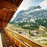 Leilighet, 3 soverom, balkong, utsikt mot fjell - Balkong
