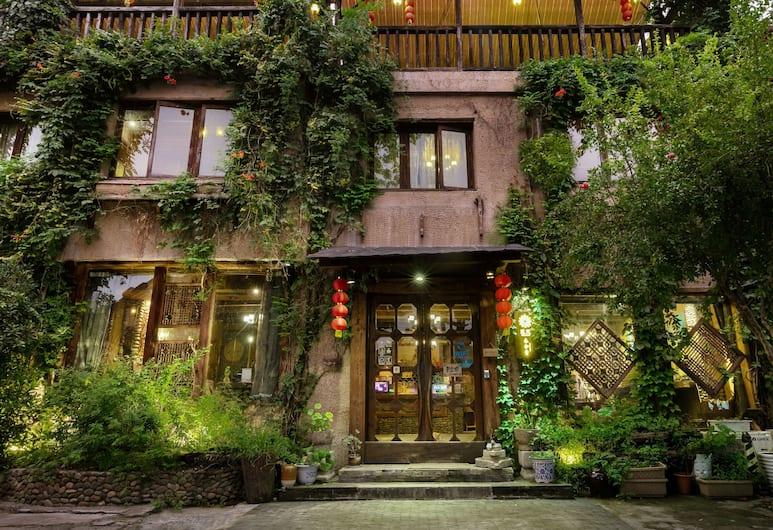 Floral Hotel Hangzhou Muhetang, Hangzhou, Vchod do hotelu