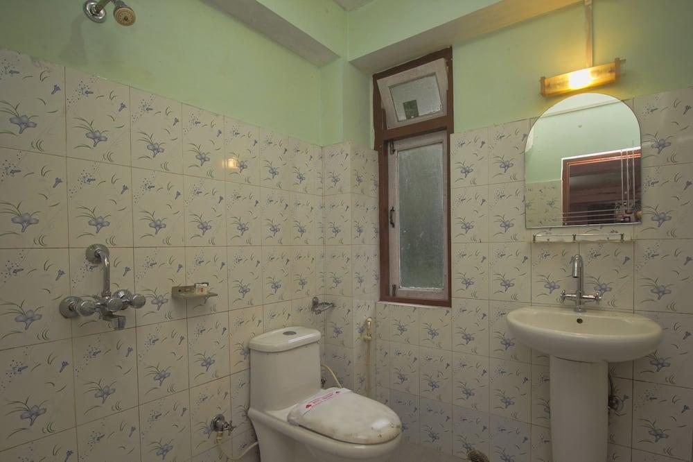 Dvoulůžkový pokoj, dvojlůžko (180 cm) - Koupelna