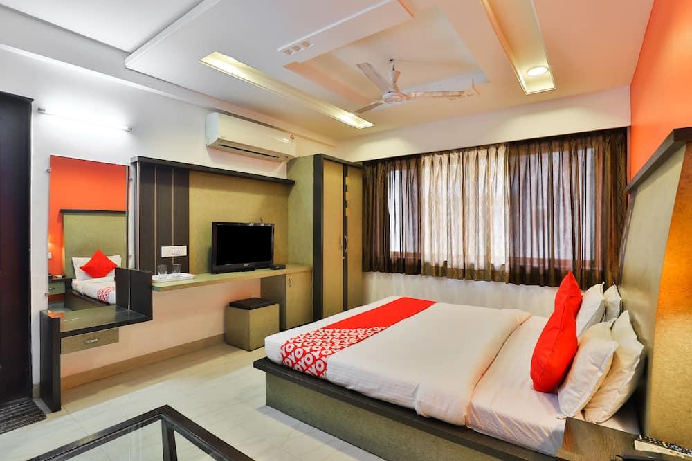 Deluxe-værelse med dobbeltseng eller 2 enkeltsenge - 1 kingsize-seng - Værelse
