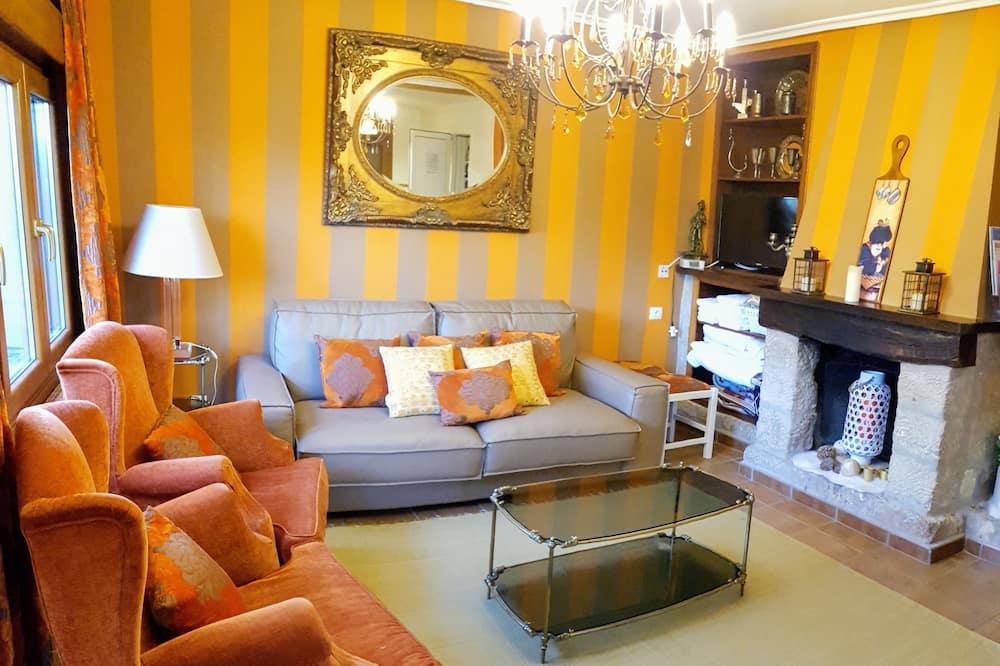 Domek typu Exclusive, 3 ložnice - Obývací pokoj