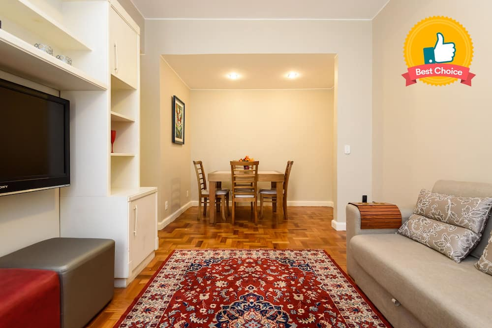 Classic apartman, több ágy, nemdohányzó - Nappali