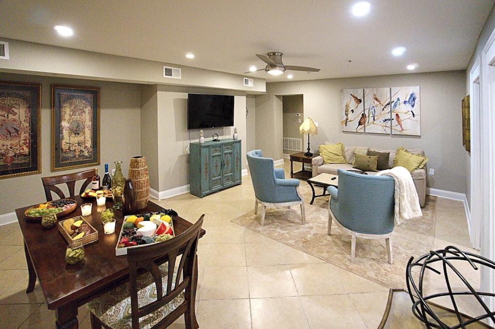 Apartmán, 4 spálne, nefajčiarska izba - Obývačka