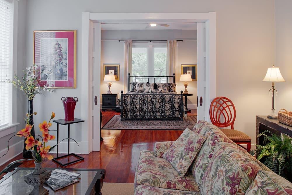 公寓, 2 間臥室, 非吸煙房 - 客廳