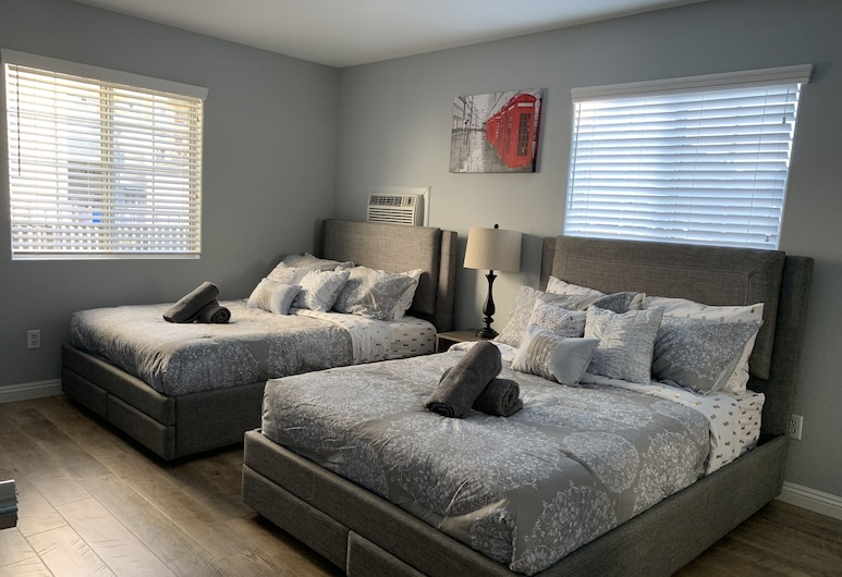 Downtown LA Cozy Nights, Los Angeles, Comfort Suite, 2 Double Beds, Non Smoking, Guest Room View