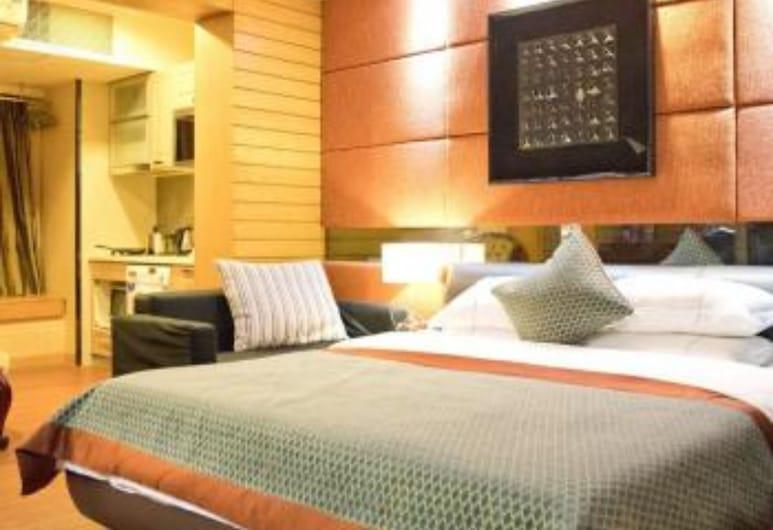 廣州喜潤匯峰國際公寓, 廣州市, 商務大床房, 客房