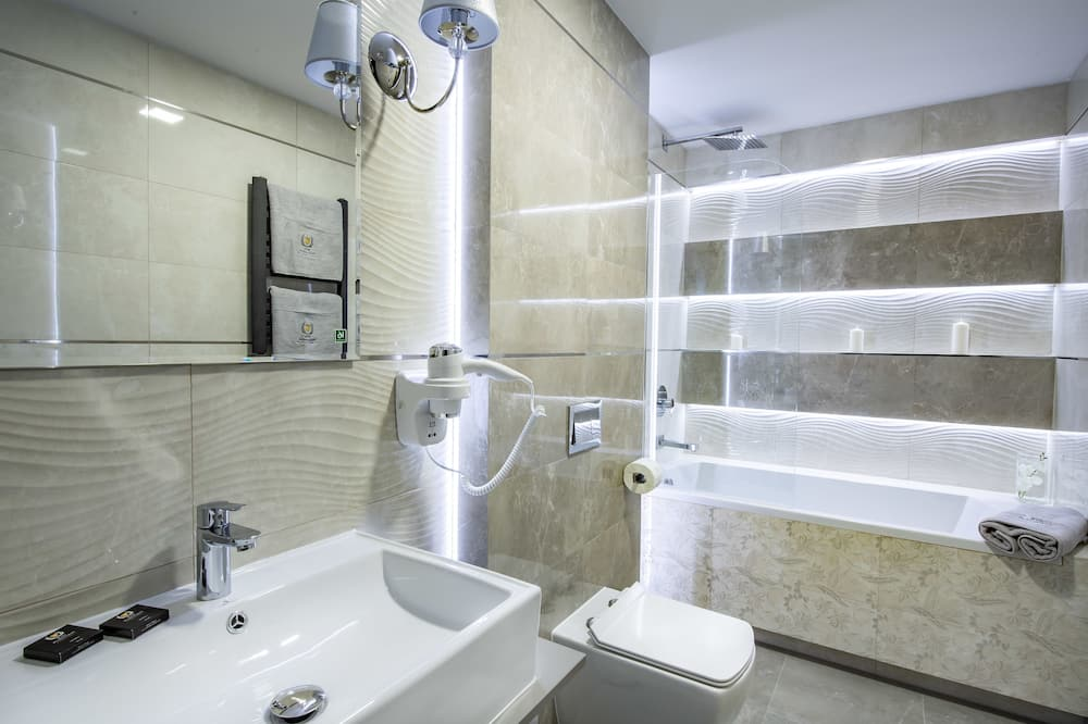 Deluxe-Suite, Terrasse - Badezimmer
