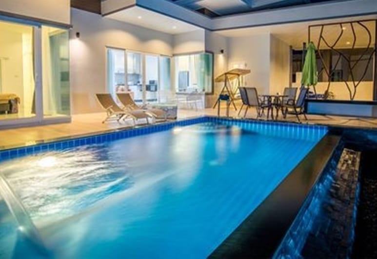 首都 O 1009 華欣葉子谷泳池別墅度假村, Hua Hin, 室外泳池