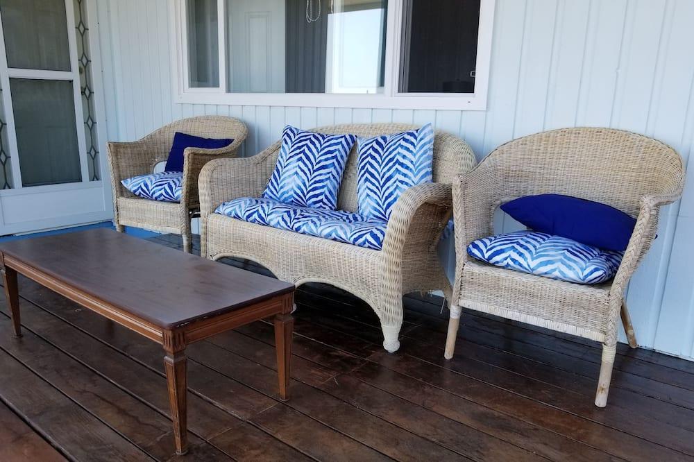 高級雙人房, 1 張加大雙人床, 非吸煙房, 海景 - 陽台