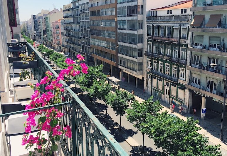 Ambiente Hostel, Lissabon, Yhteismajoitus, Sekamajoitus, Jaettu kylpyhuone (1 Bed in 8-Bed Dorm), Kaupunkinäkymä