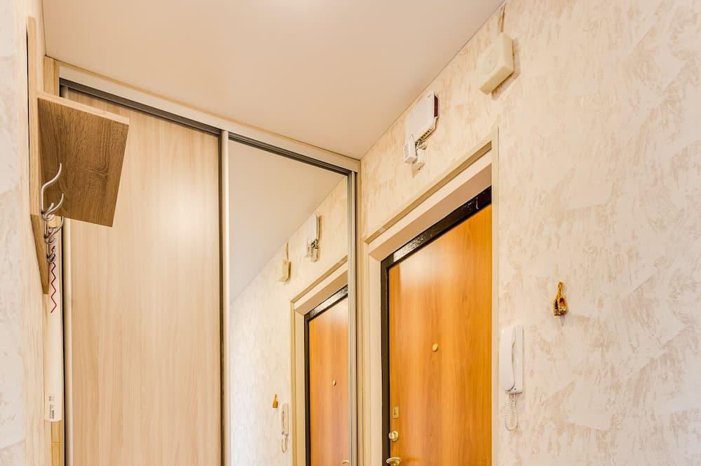 Апартаменты, 1 двуспальная кровать с диваном-кроватью, для курящих - Зона гостиной