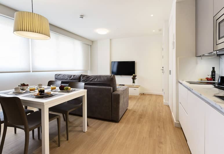 Sercotel Logroño Suites , Logroño, Standard Apartment, 1 Bedroom, Bilik