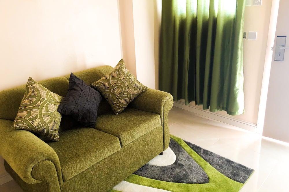 Standaard appartement, 2 slaapkamers, niet-roken, Balkon - Woonkamer