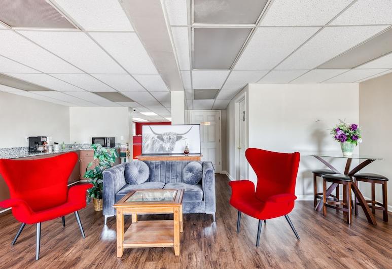 OYO Hotel Decatur I-20 East & Wesley Club Dr, Ντικέιτορ, Καθιστικό στο λόμπι