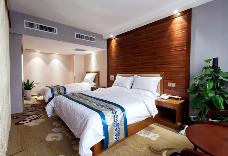 Xian Guotai grand hotel, Xi'an, Executive Suite, 1 King Bed, Accessible, City View, Guest Room