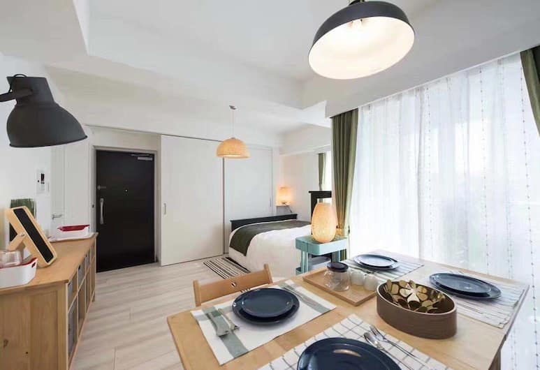 Cozy Home Hotel, 台東区, エリート アパートメント ベッド (複数台) 禁煙 シティビュー, 部屋