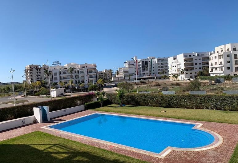 Paraiso del Sol agadir Founty, Agadir, Departamento, vista a la piscina, Balcón