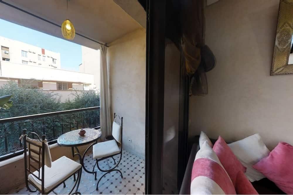 Apartament typu Comfort, 1 sypialnia, dla niepalących - Balkon