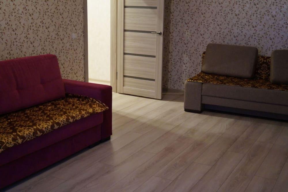 Comfort Apart Daire, Birden Çok Yatak, Sigara İçilmez, Şehir Manzaralı - Oturma Odası