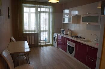 Mynd af Apartment on Vokzalnaya 51A-7 í Ryazan