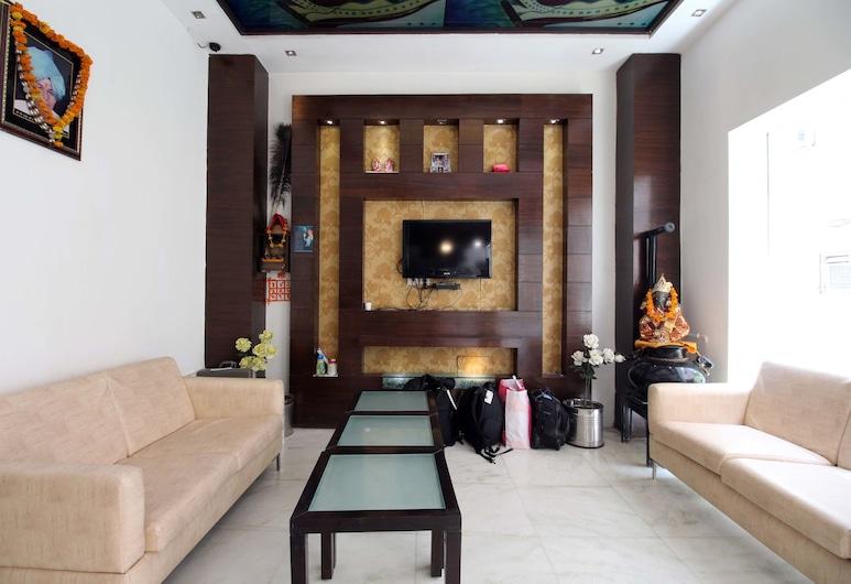 Hotel Baba Inn Paharganj, New Delhi, Tempat Duduk di Lobi