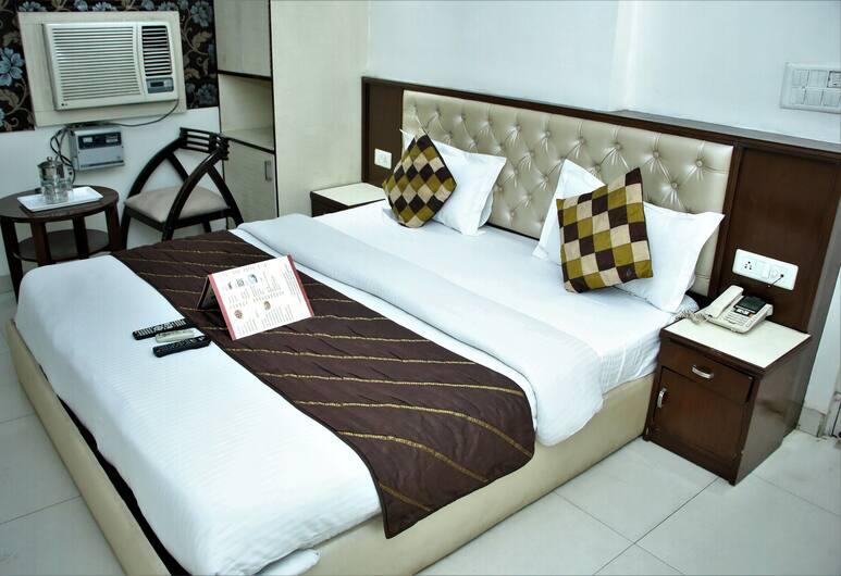 Hotel Grace at Karol Bagh, New Delhi, Deluxe soba, 1 bračni krevet, za nepušače, Pogled iz sobe za goste
