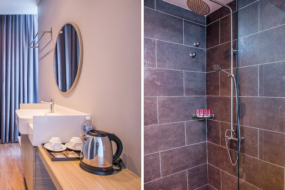 Superior-dobbeltværelse - 1 kingsize-seng - Badeværelse