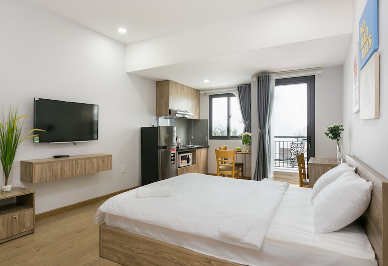 Cactusland Apartment, Ho Chi Minh City, Deluxe Studio, City View, Room