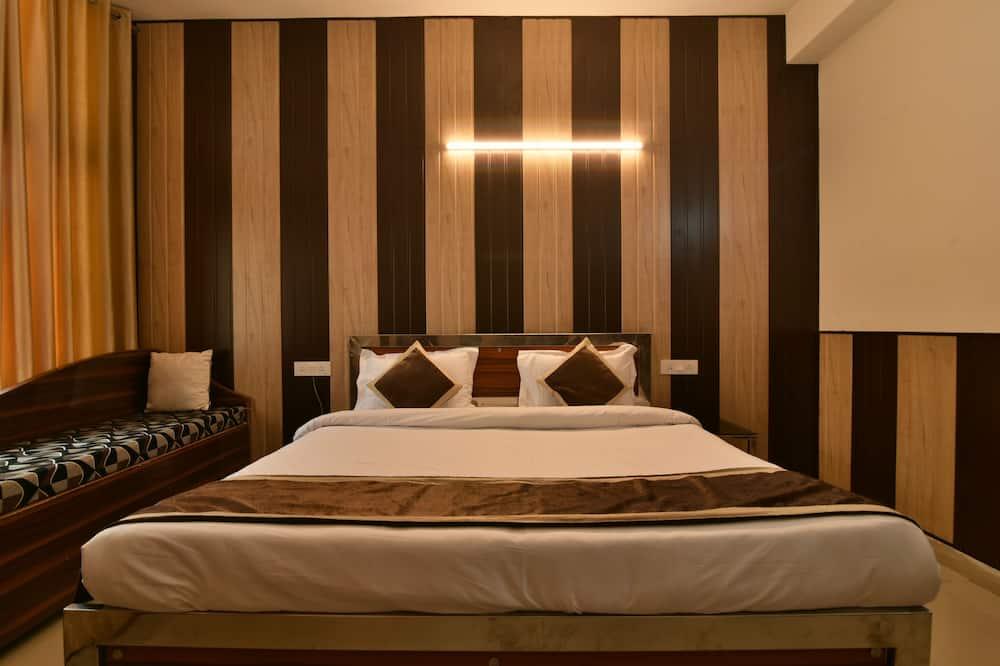 Deluxe-Doppelzimmer, 1King-Bett, barrierefrei, Nichtraucher - Badezimmer