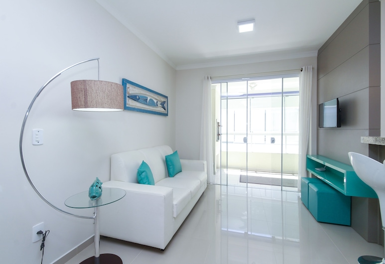 Apartamento 2 quartos - 228, Bombinhas, Apartment, Multiple Beds, Non Smoking, Living Area