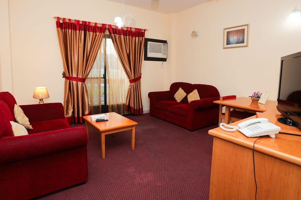 Comfort Apartment, 1 Bedroom - Living Room