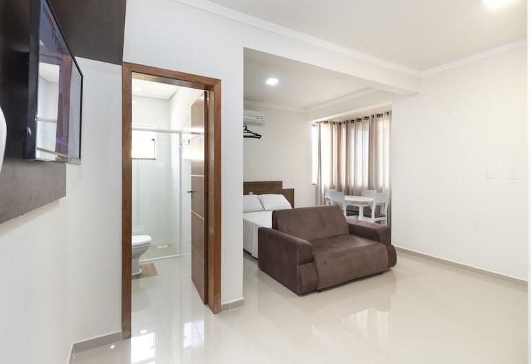 أبارتامنتو ستوديو 21- 303 - 21, Bombinhas, شقة - سرير مزدوج مع أريكة سرير - لغير المدخنين, الغرفة