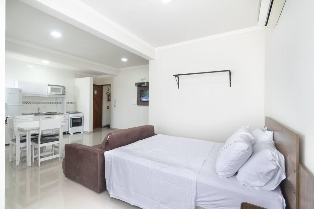 Apartment, 1Doppelbett und Schlafsofa, Nichtraucher - Zimmer