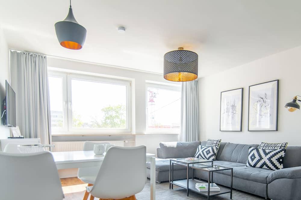 شقة مريحة - سرير كبير مع أريكة سرير - منطقة المعيشة