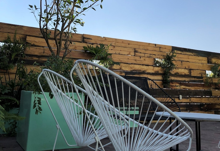 MX 民宿阿拉梅達青年旅舍, 墨西哥城, 陽台