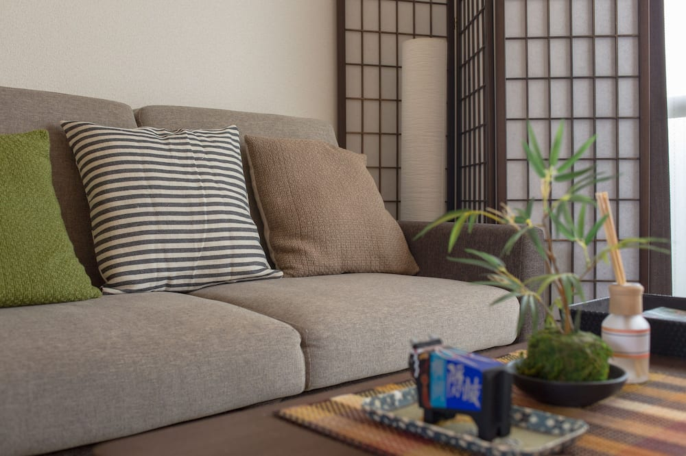 Double Room (C) - Living Area