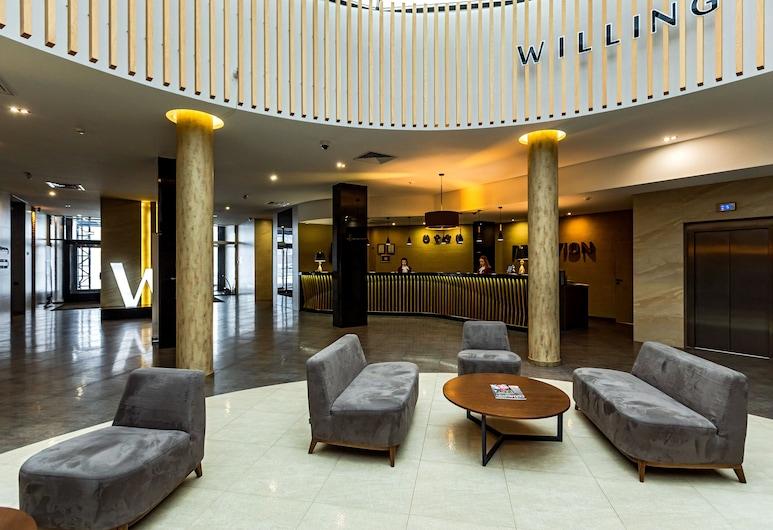 Willing Hotel, Minsk, Hotellounge